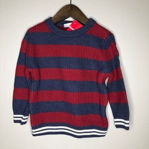 NWT Hanna Andersson toddler boys stripe sweater